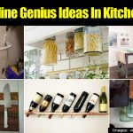 20 Borderline Genius Ideas In Kitchen Storage