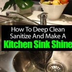 How To Deep Clean Sanitize And Make A Kitchen Sink Shine