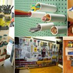 16 Remarkable DIY Projects Totally Organize Your Garage