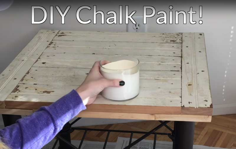 How To Make Chalk Paint With Baking Soda
