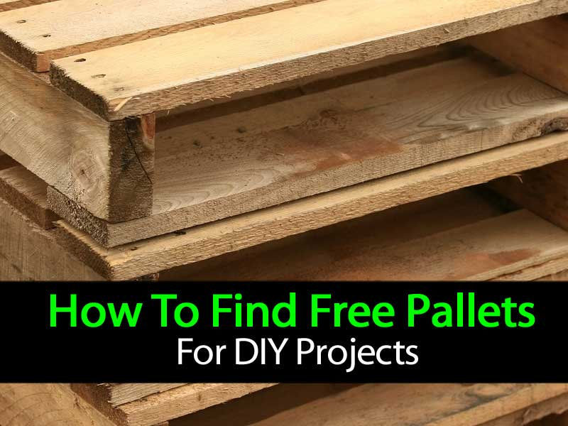 How to find free pallets for diy projects home garden pulse for Free house projects