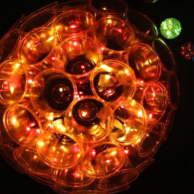 how to make a sparkle ball